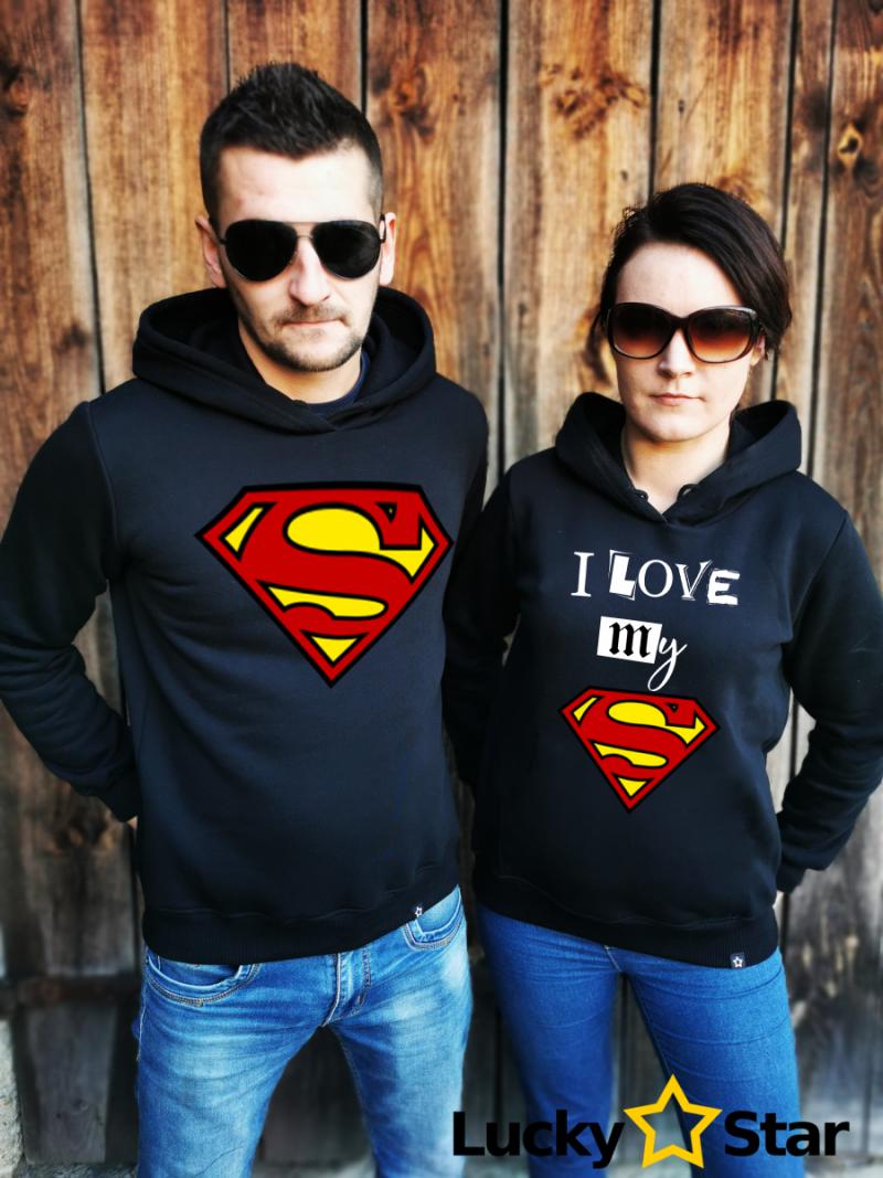 Bluzy dla par I love my hero