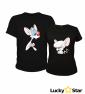 Koszulki dla par (zestaw koszulek) Pinky i Mózg