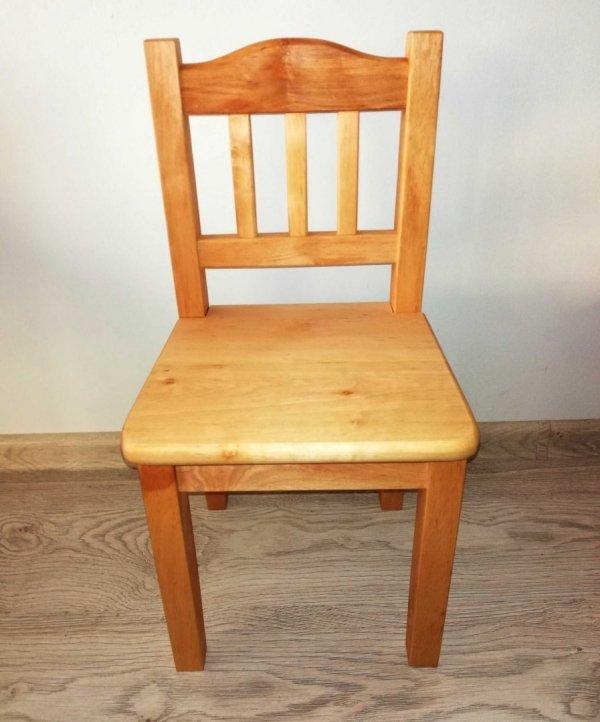 Krzesełko dziecięce z drewna Bukowego - Krzesło - Taboret
