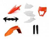 Acerbis KTM pełny zestaw plastików EXC 2017-2019