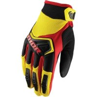 THOR RĘKAWICE YOUTH SPECTRUM YELLOW/BLACK/RED =$