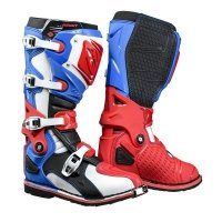 KENNY BUTY OFF-ROAD TITANIUM  BLUE WHITE RED