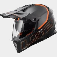 KASK LS2 MX436 PIONEER ELEMENT TITANIUM BLACK