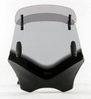 Uniwersalna szyba do motocykli bez owiewek MRA przyciemniana (typ VFVTC)