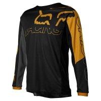 FOX BLUZA OFF-ROAD JUNIOR 180 SKEW BLACK/GOLD