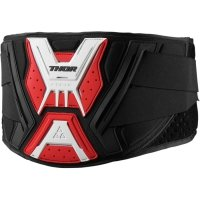 THOR PAS FORCE SUPPORT BELT BLACK/RED/WHITE =$