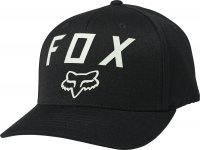 FOX CZAPKA Z DASZKIEM NUMBER 2 FLEXFIT BLACK/GREEN