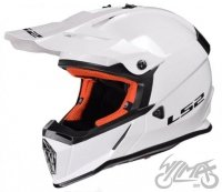 KASK LS2 MX437 FAST SOLID WHITE
