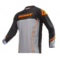 KENNY KOSZULKA OFF-ROAD TITANIUM ORANGE GREY 2019