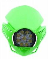 Acerbis Lampa reflektor przód LED Fulmine zielony