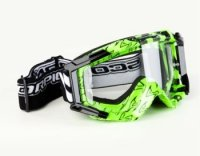 SCORPION GOGLE NEON GREEN-BLACK E16