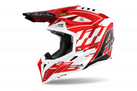 AIROH KASK OFF-ROAD AVIATOR 3 RAMPAGE RED GLOSS
