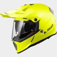 KASK LS2 MX436 PIONEER SOLID H-V YELLOW