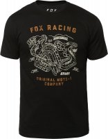 FOX T-SHIRT FAST TRACK PREMIUM BLACK