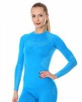 Brubeck LS13070 Bluza damska DRY niebieski