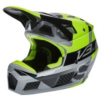 FOX KASK OFF-ROAD V3 RS RIET FLUORESCENT YELLOW