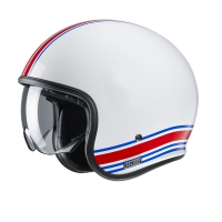 HJC KASK OTWARTY V30 SENTI WHITE/RED/BLUE