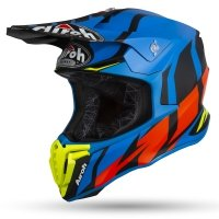 KASK OFF-ROAD AIROH TWIST GREAT BLUE MATT