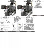 GIVI TE5115 STELAŻ SAKW BOCZNYCH 3D600 BMW R NINE T