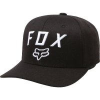 FOX CZAPKA Z DASZKIEM JUNIOR LEGACY MOTH 110 BLACK