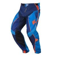 KENNY SPODNIE OFF-ROAD TRACK NAVY/CYAN/ORANGE