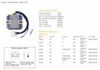 DZE REGULATOR NAPIĘCIA HONDA CB750 FOUR 69-78