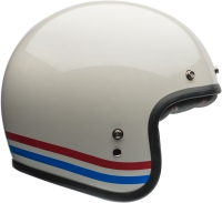 BELL KASK OTWARTY CUSTOM 500 DLX STRIPES PE WHITE