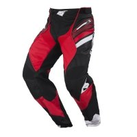 KENNY SPODNIE OFF-ROAD TITANIUM BLACK/RED