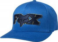FOX CZAPKA Z DASZKIEM ELLIPSOID FLEXFIT ROYAL BLUE
