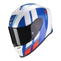 SCORPION KASK INTEGRALNY EXO-R1 AIR CORPUS WH-BL-R