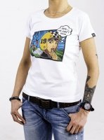 DAVCA T-shirt lady ops he can't ride
