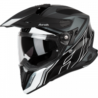 AIROH KASK DUALE COMMANDER DUO GLOSS/MATT
