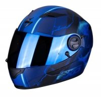 SCORPION KASK  INTEGRALNY EXO-490 DAR MATT BLUE