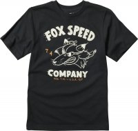 FOX T-SHIRT JUNIOR BOMBER BLACK