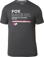 FOX T-SHIRT ANALOG TECH HEATHER BLACK