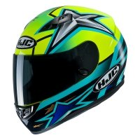 HJC KASK CS-15 TONI ELIAS 24 BLUE/YELLOW