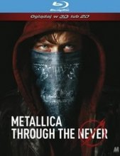 METALLICA THROUGH THE NEVER BLU RAY