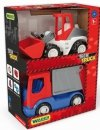 Tech Truck  śmieciarka i ładowarka  Wader 35373