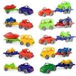 Kid Cars Sport autko z przyczepą
