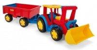Gigant Traktor ładowarka z przyczepą 66300