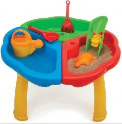 Stolik z zabawkami do piasku i wody WADER 72000