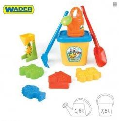Duży komplet do piasku - Wader 74900