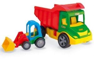 Multi Truck ze spychaczem buggy Wader 32210