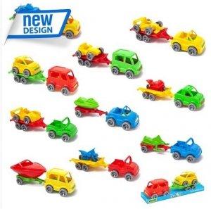 Kid Cars Sport autko z przyczepą Wader 52610