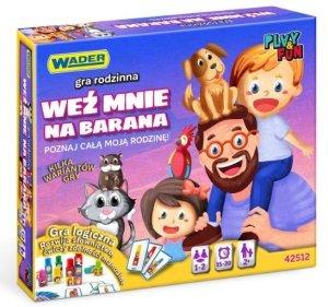 Weź mnie na barana! gra rodzinna Wader 42512