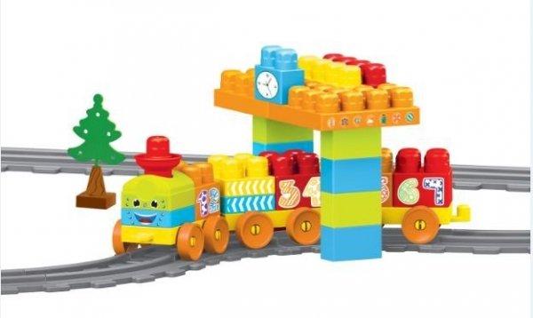 Baby Blocks kolejka 2,24 m 58 el. Wader 41470