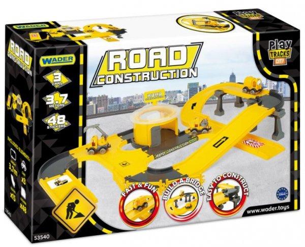Wader 53540 budowa dróg -Play Tracks City