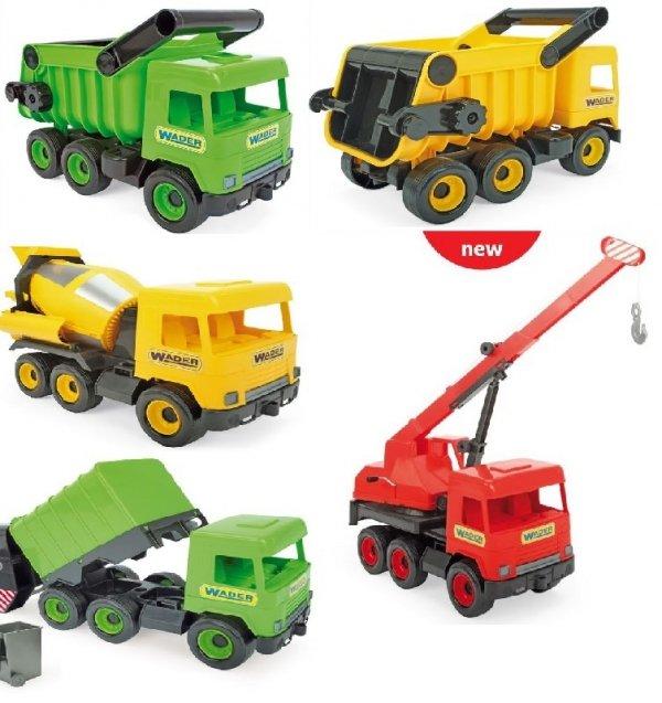 Middle Truck śmieciarka green w kartonie Wader 32103