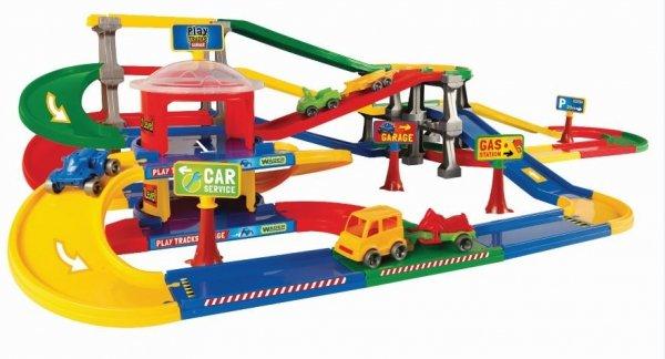 Play Tracks Garage parking wielopoziomowy WADER 53080