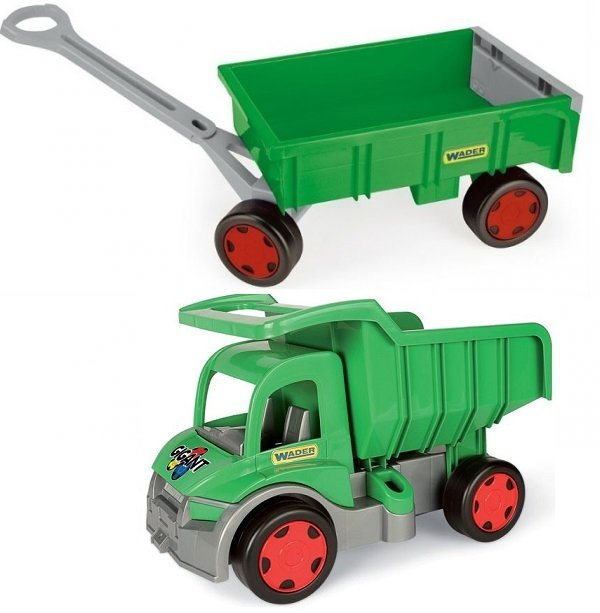 Gigant Truck wywrotka Farmer z przyczepą  65015 + 10915
